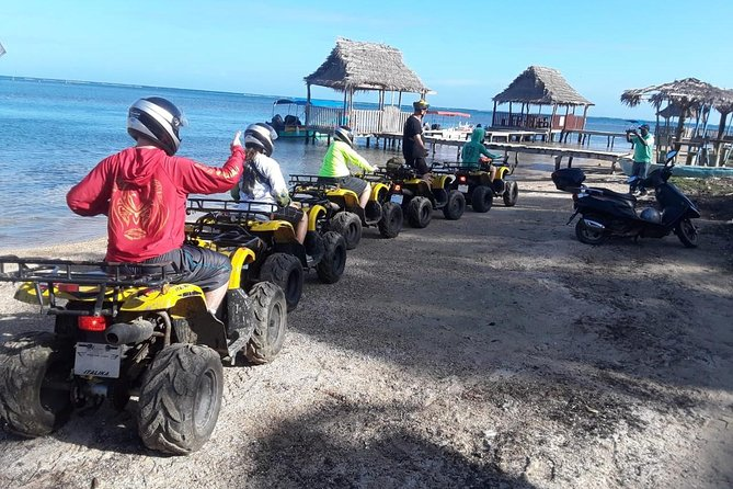 Roatan Monkey and Sloth Hangout plus ATV Adventure