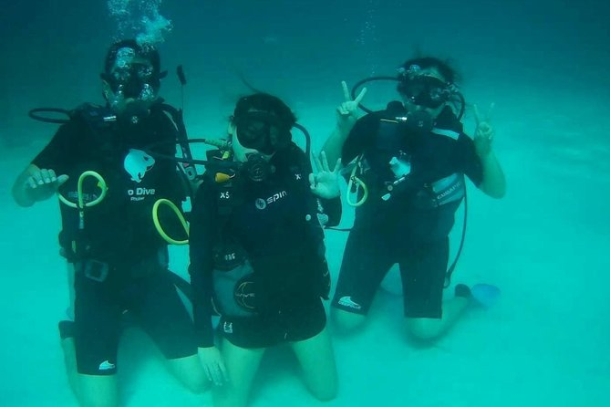 Phuket Raya Half Day Tour with Scuba Diving & Snorkeling: No Dive License Needed