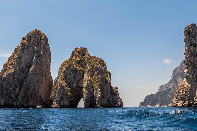 Exploring Capri and Anacapri from Rome - Sea and city sightseeing tour