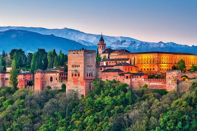 Day trip to the Alhambra from Malaga and Costa del Sol