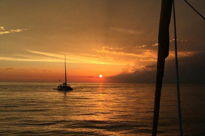 Panama City Beach Sunset Sail on The Footloose Catamaran