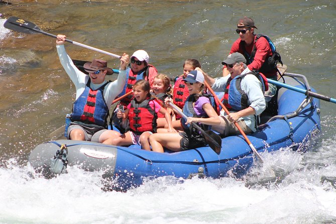 2-Hour Family Rafting in Durango with Guide