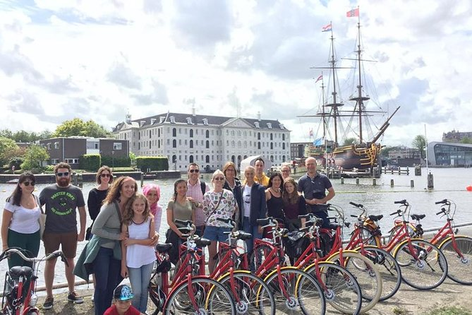 Amsterdam International-Group Historical Bike Tour
