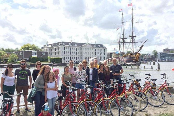 Amsterdam International-Group Historical Bike Tour