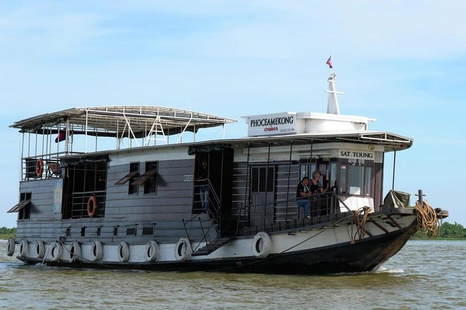 Phnom Penh to Siem Reap Mekong Delta Private 3-Day Cruise