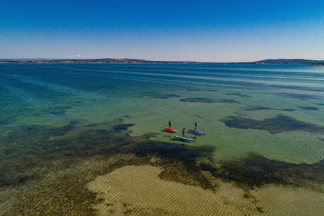 Stand-up-paddle on Laguna of Thau, Sete