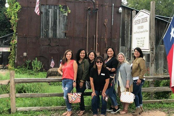 Taste of Fredericksburg Small-Group Wine Tour from San Antonio
