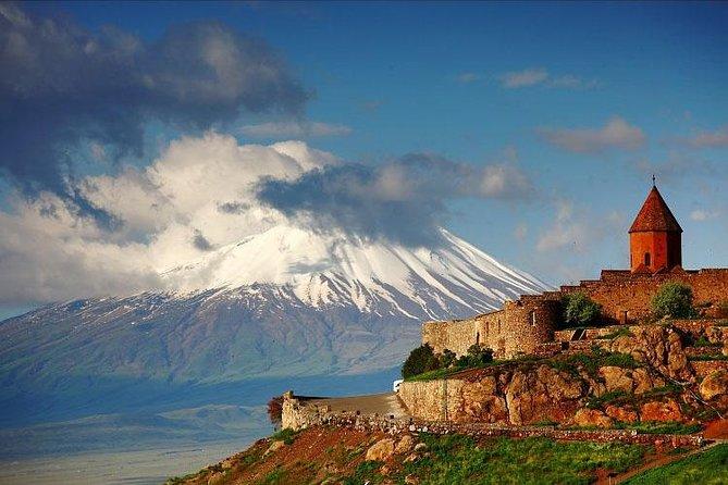 Private 7-8-hour Khor Virap, Garni temple & Geghard monastery trip from Yerevan