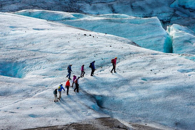 South Coast Waterfalls, Black Bach & Glacier Adventure | Small Group Day Tour