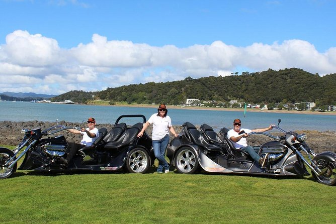 V8 Trike Tours 60 minute Bay of Islands Combo Tour - 2 Passengers