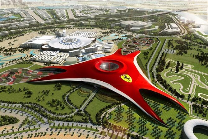 Abu Dhabi Ferrari world entry with return transfers from Dubai