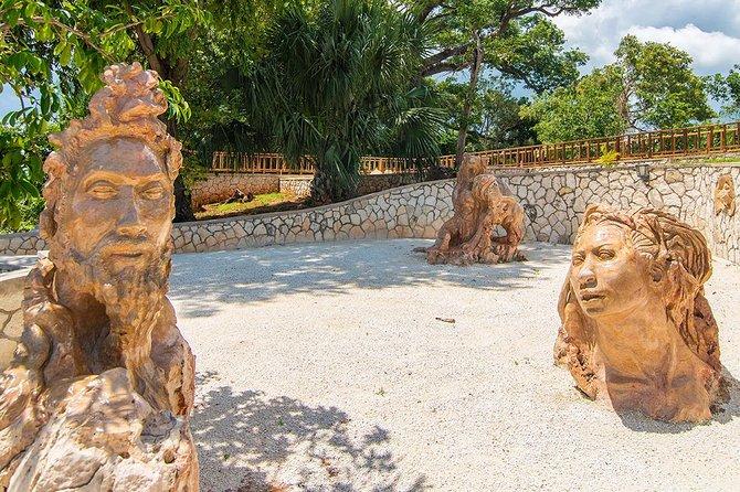 Jamaica Giants sculpture park, art galleries