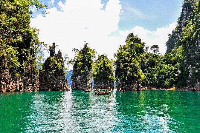 One Day Tour Khao Sok Cheow Lan Lake from Krabi