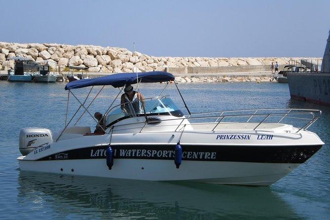 Luxury 250HP Self-Drive Speedboat Rental in Latchi €290 Per Boat