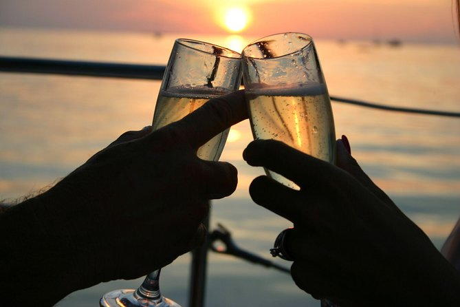 Adults only Champagne Celebration Sunset Cruise from Key West