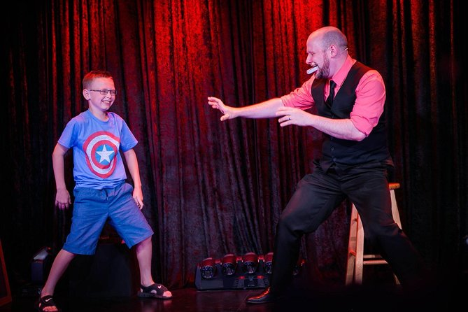 Impossibilities Magic Show at the Iris Theater Ticket