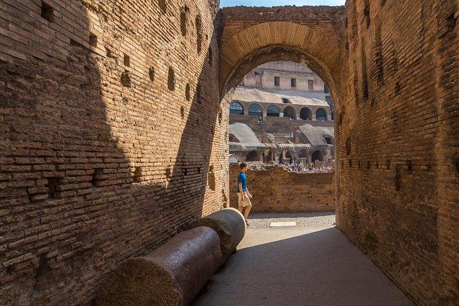 Small Group Colosseum Underground, Roman Forum & Palatine Hill