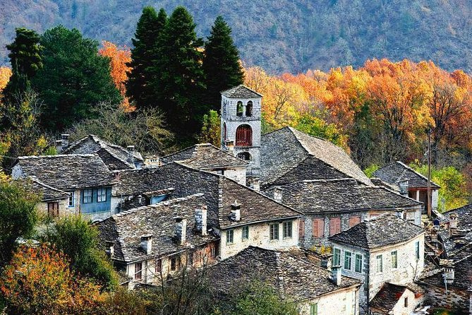 One day private tour to Zagori from Corfu, Kipoi, Monodentri, Vikos Gorge