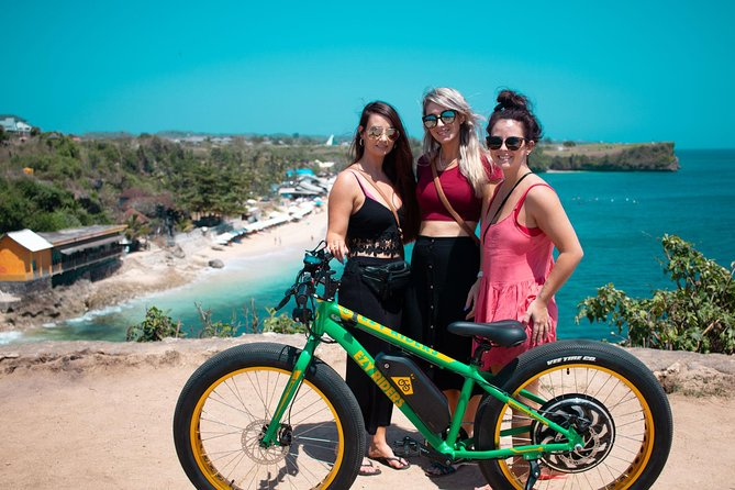 Uluwatu Temple Balangan Beach E-Bike Half Day Tour