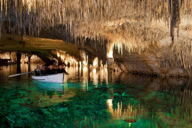 Full Day Tour to Caves of Drach and Hams with Porto Cristo and Pearl Factory
