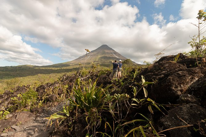 2-in-1 Arenal Volcano Combo Tour: La Fortuna Waterfall and Volcano Hike