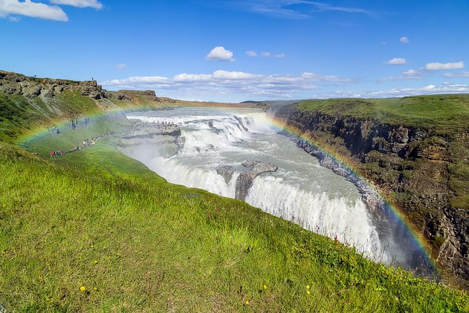 Golden Circle Day Tour Including Blue Lagoon Admission from Reykjavik