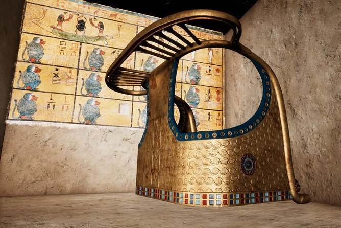 Tutankhamun's Discovery of the Tomb with Virtual Reality