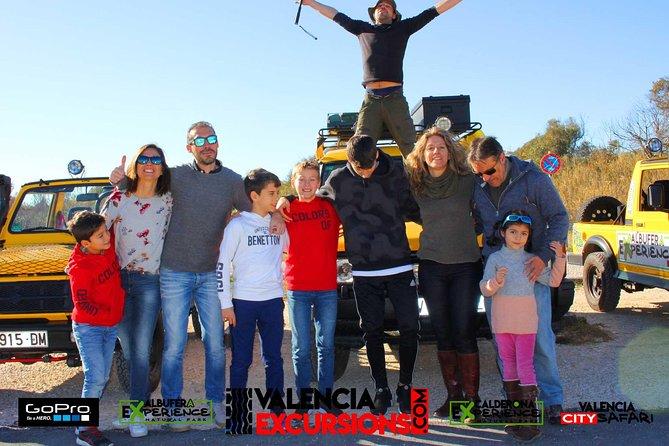 Valencia: Jeep Tour Albufera Park