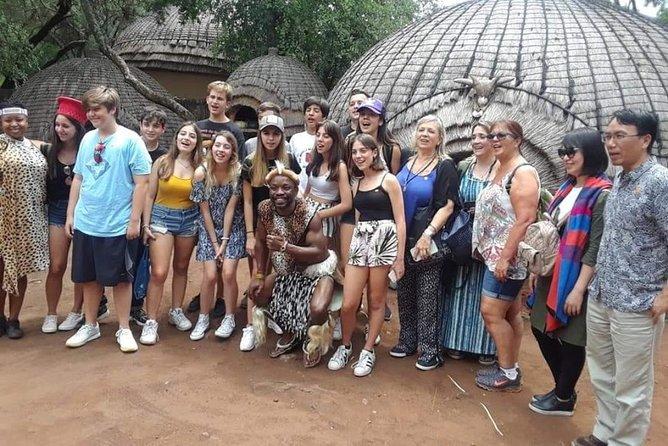Private Lesedi Cultural Village Half Day Tour