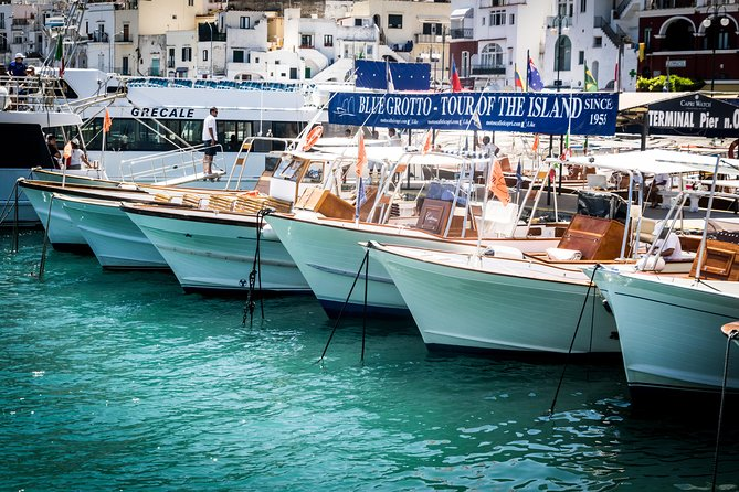 Capri Day Trip from Rome at your leisure!