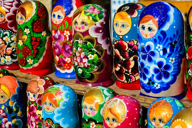 Matryoshka Painting class with traditional tea Ceremony