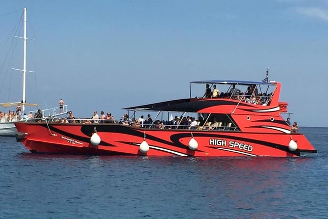 High Speed Boat to Lindos