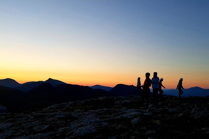 Sunrise hike in Molde