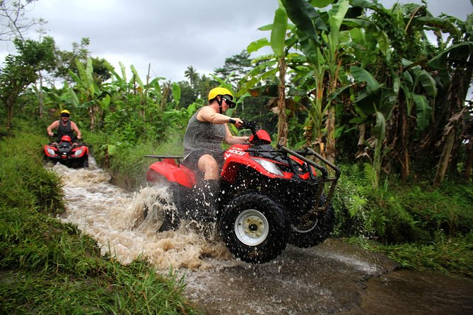 Bali Quad Bike: Riding Through The Jungle, Rice Terrace, River and Villages
