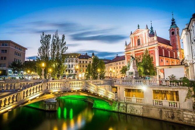Private Ljubljana City Tour & Ljubljana castle from Ljubljana
