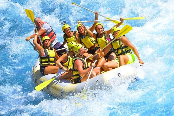 rafing and canyoning tour antalya