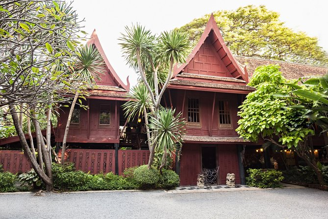 Jim Thompson House Museum Entrance Ticket & Hotel Pick up