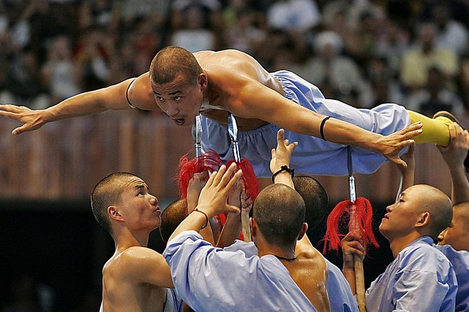 Independent Tour: Shaolin Temple with Zen Music Shaolin Ceremony from Zhengzhou