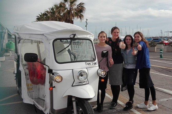 Tuk Tuk Valencia - Complete Tour (Center - Arts - Marina - Beach)