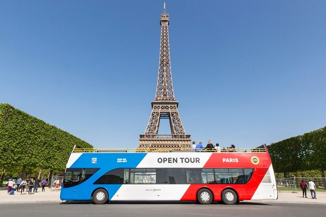 Paris Discovery: Hop-on Hop-off Sightseeing Bus Tour