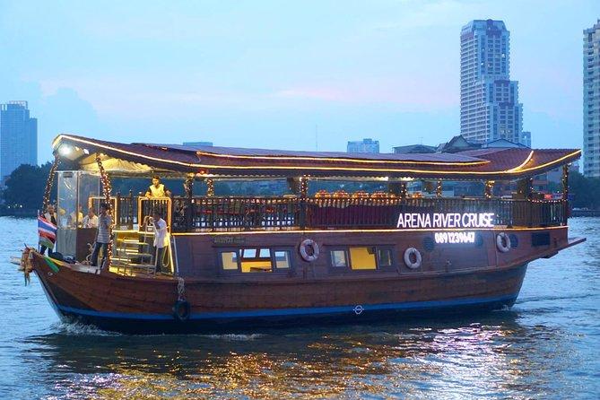Arena River Dinner Cruise from Bangkok including Transfer
