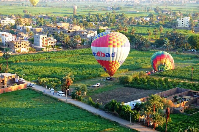 hot air balloon ride and tour to valley of the kings.luxor.special offer
