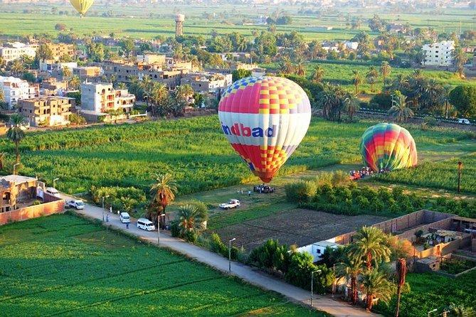 3 Nights Luxor & Aswan Nile Cruise, Hot Air Balloon and Abu Simbel from Hurghada