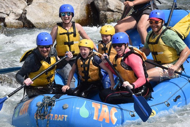 Browns Canyon Intermediate Rafting Trip with Transportation
