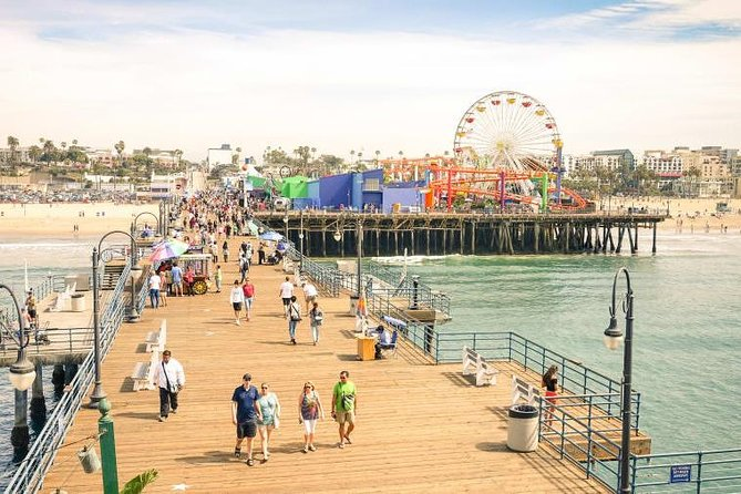 The Best of LA Tour from Anaheim or LA: Hollywood, Beverly Hills and Beaches