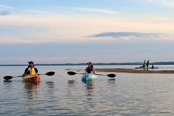 Guided Sunset Kayak Tour on Sebago Lake, Maine