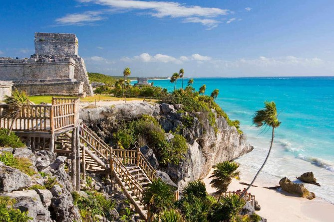 4x1! Tulum, Coba, Cenote & Playa del Carmen for 1 price from Cancun and Riviera
