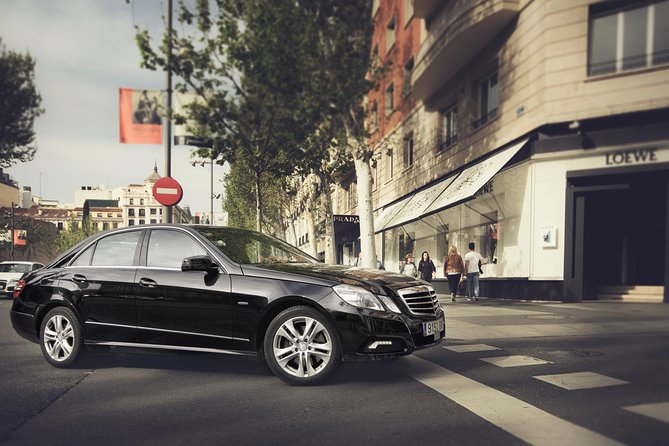 Departure Private Transfer: Piazzale Roma to Venice Airport VCE by Business Car