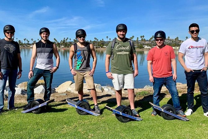 Onewheel Electric Hoverboard Lesson and Bay Ride