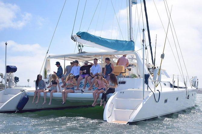 Luxury Catamaran Sailing Charter of San Diego